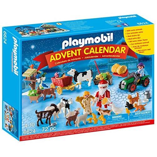 Playmobil 6624 - Calendrier de l'Avent ''Père Noël à la ferme''