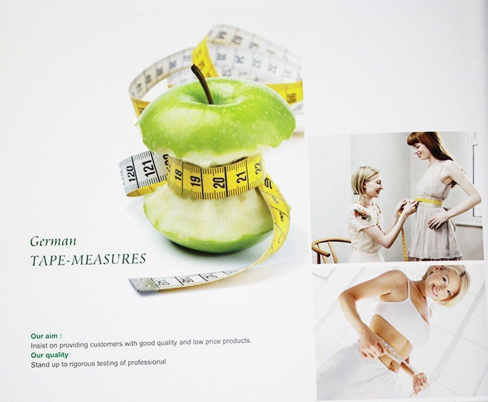 HONGYE TAJA 60-Inch Soft Tape Measure for Sewing Tailor Cloth Ruler Set-of-2 Multi-color by Hongye Taja