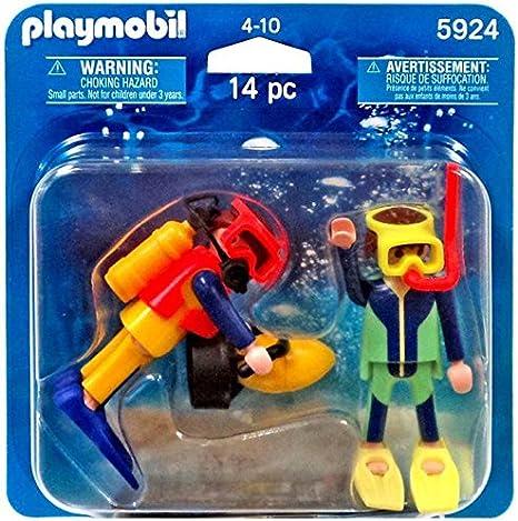 PLAYMOBIL DuoPack - Paquete de Duo Buzo 5924 Nuevo en Empaque ...