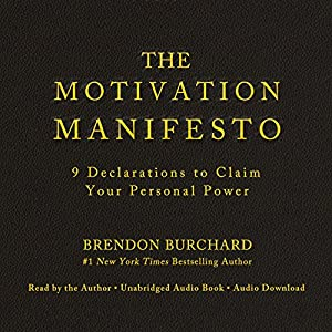 The Motivation Manifesto Hörbuch