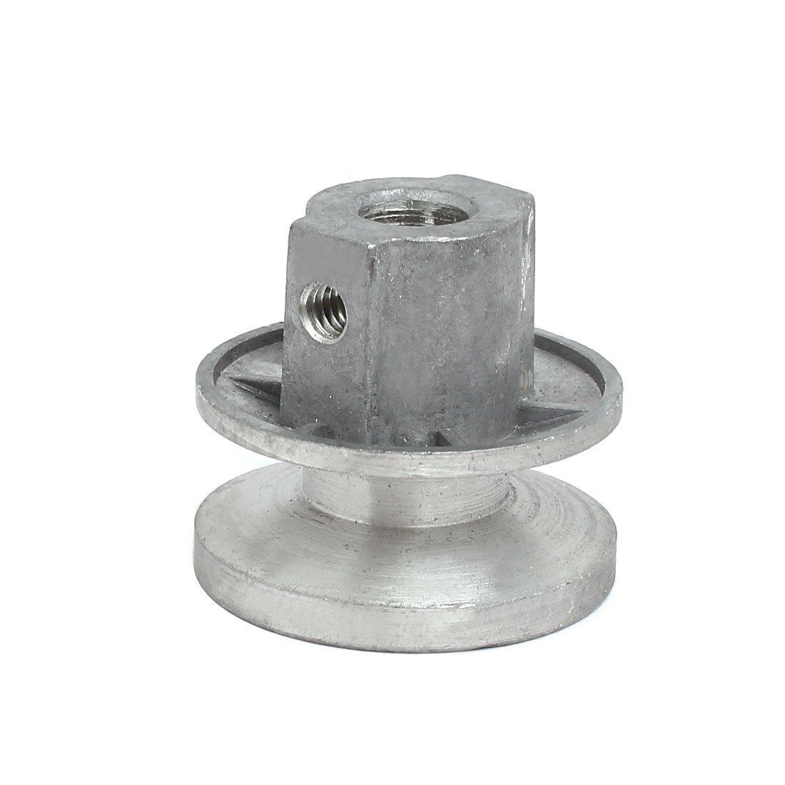 sourcingmap 40mmx35mm Lavatrice automatica parte Riparazione motore in alluminio puleggia della cinghia sourcing map a17042400ux0882