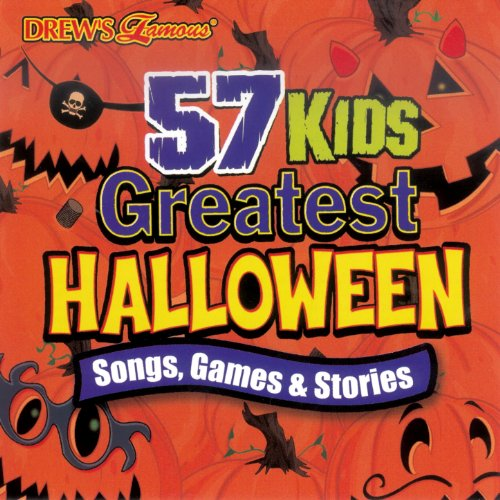 Amazon.com: 57 Kids Greatest Halloween Songs, Stories, And Sounds ...