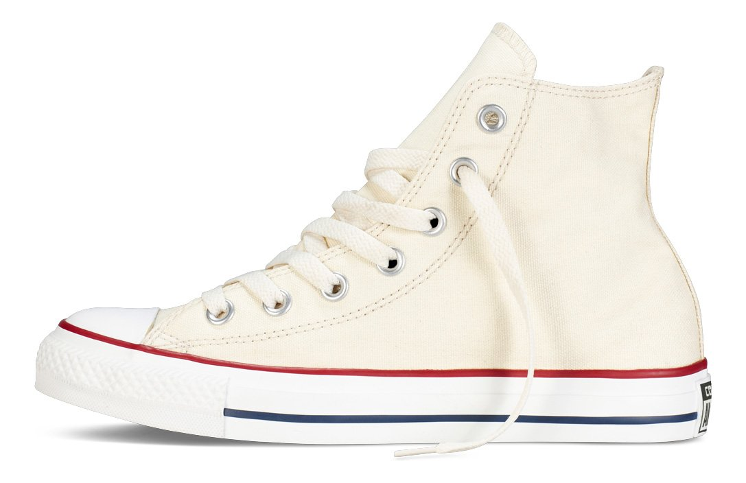 Converse Unisex Casual Chuck Taylor All-Star High-Top Casual Unisex Sneakers in Classic Style and Color and Durable Canvas Uppers B000E1DD1I Men's 9.5, Women's 11.5 Medium|Natural White b7700b
