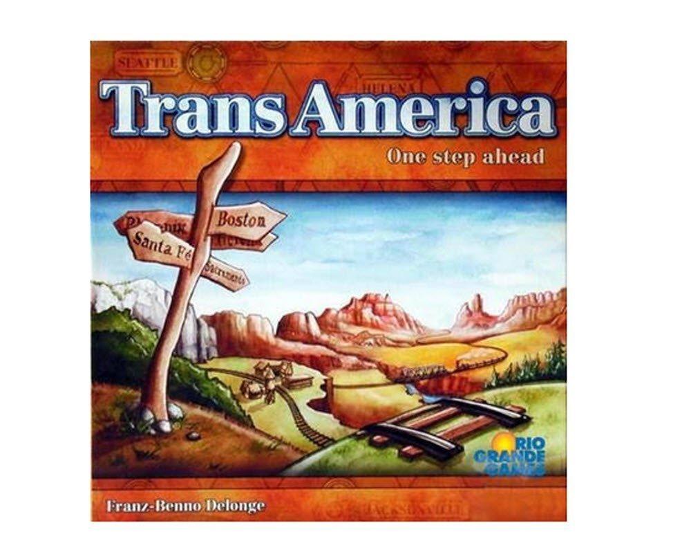 Rio Grande Games Transamerica Game 201
