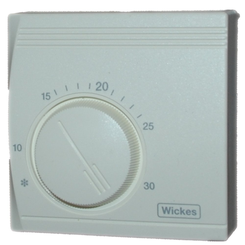 Wickes® Universal Standard Room Thermostat Energy Saving Mechanical ...