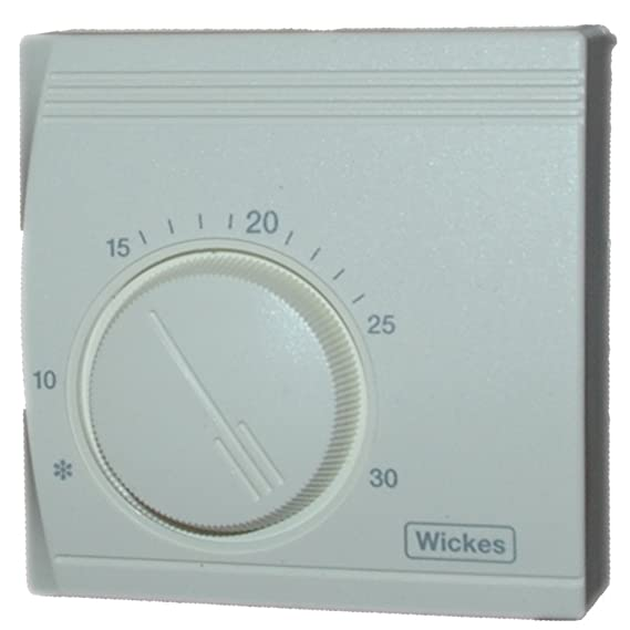 Wickes universal standard room thermostat energy saving mechanical wickes universal standard room thermostat energy saving mechanical temperature control mounting plate included amazon kitchen home asfbconference2016 Choice Image