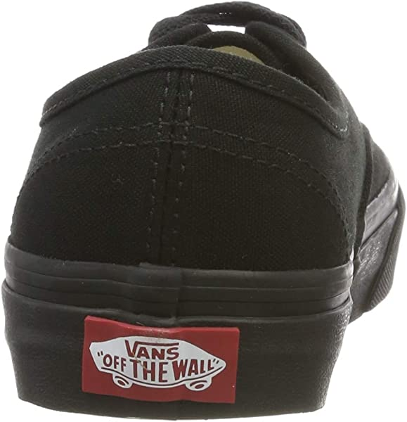 Vans W Authentic Lo Pro Sneakers Black Black Womens 5. Back. Double-tap to  zoom 4e8a65344