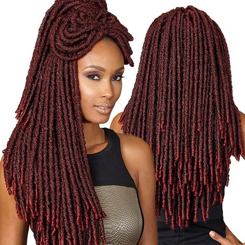 Amazoncom Bobbi Boss Synthetic Hair Crochet Braids Faux Locs
