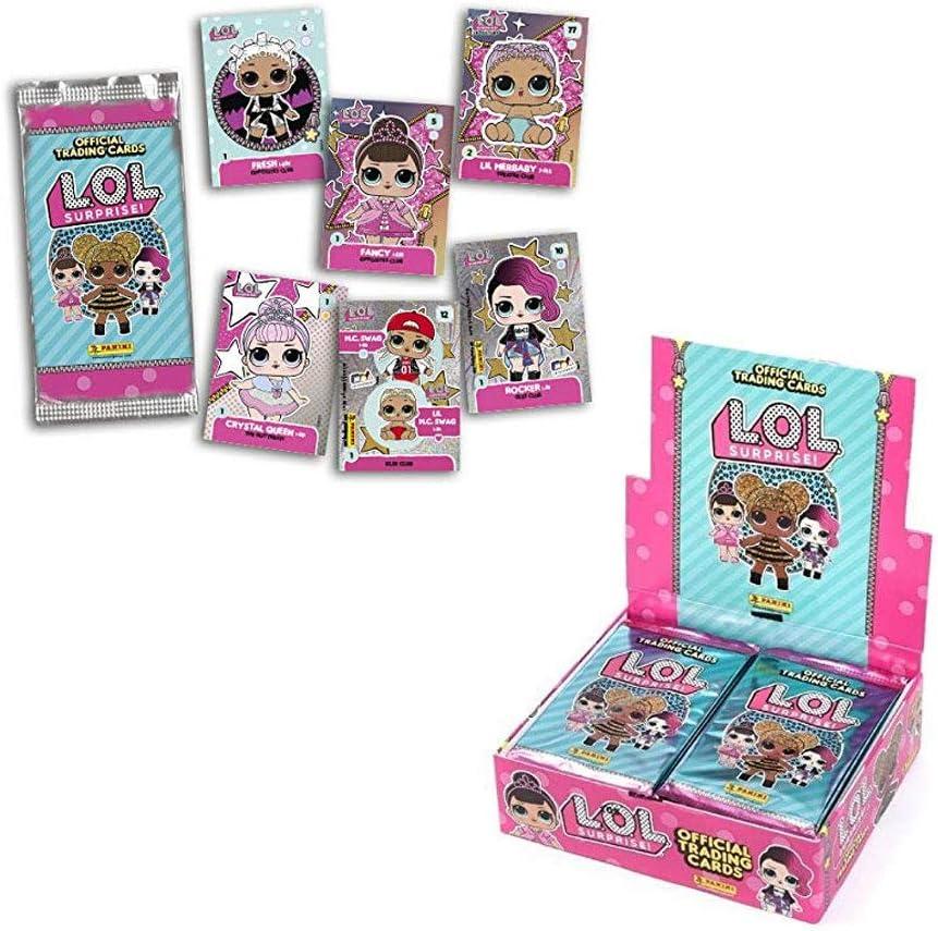 Álbum Coleccionista Archivador + 24 Sobres LOL Surprise Tranding Cards Oficiales: Amazon.es: Juguetes y juegos