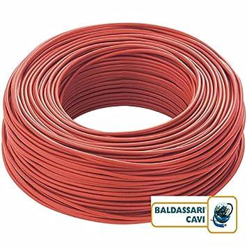 BALDASSARI CAVI Kabel Elektro einpolig Draht Kupfer 1,5 2,5 4 6 mm ...