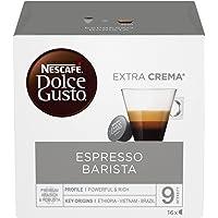 NESCAFÉ Dolce Gusto Barista, Caffè Espresso, 6 Confezioni da 16 Capsule (96 Capsule)
