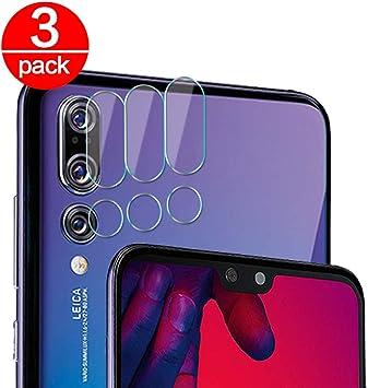 3X Cristal Templado para Lente Cámara de Huawei P20 Pro Ultra Fino ...