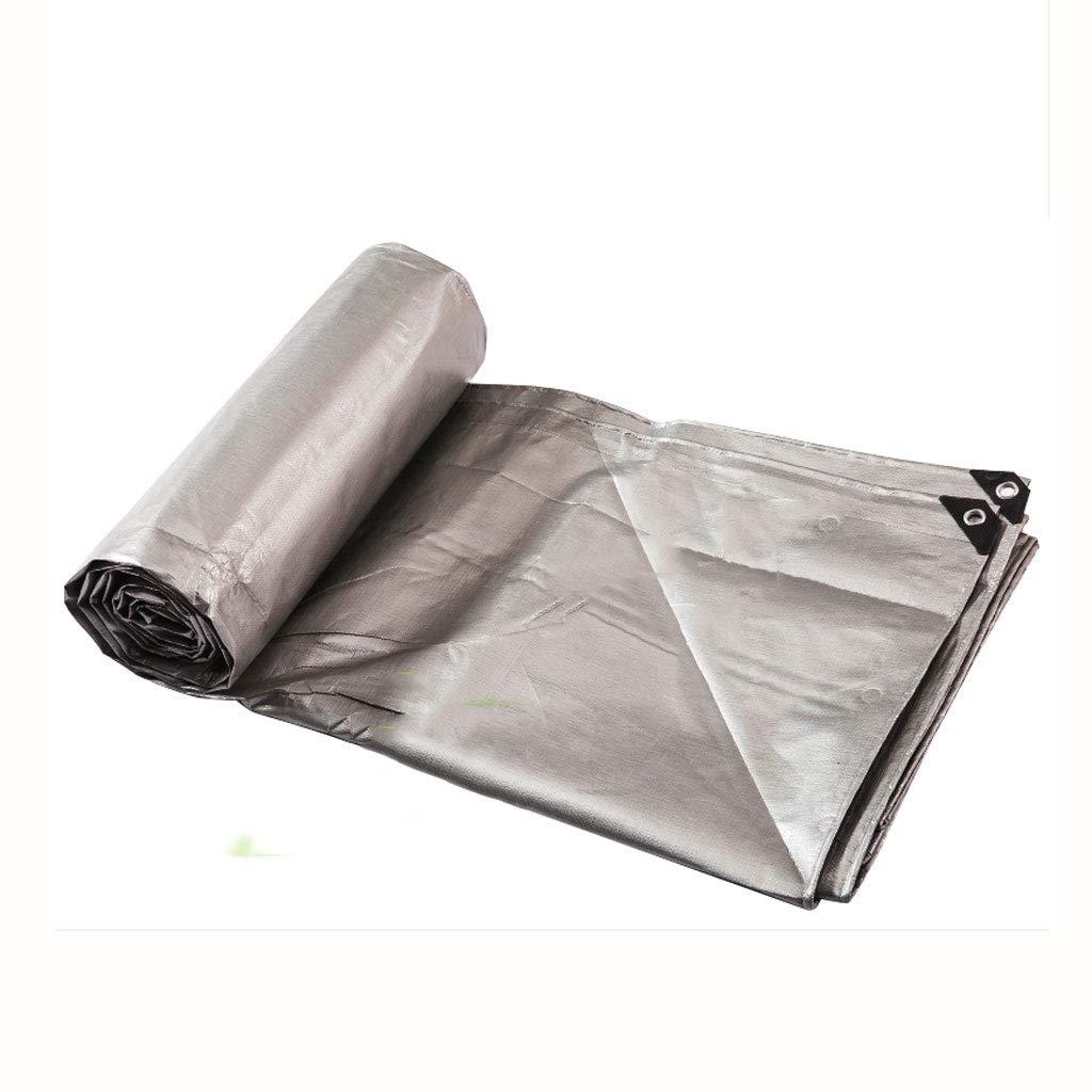 BEAUTY brand Verdickung Regendichte Tuch Tarps Kunststofftuch Regen Tarps Shade Sonnencreme Tuch Autoplanen (Farbe   4  8M)