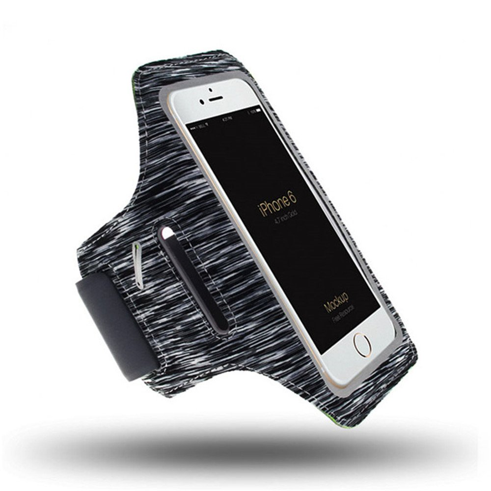 Amazon.com: IPhone X, 8, 8+, 7, 7+, 6S, 6S+, 6, 6+ SPORTS Armband- Fingerprint Touch, Great for Running, Workouts or any Fitness Activity, Cards and Keys: ...