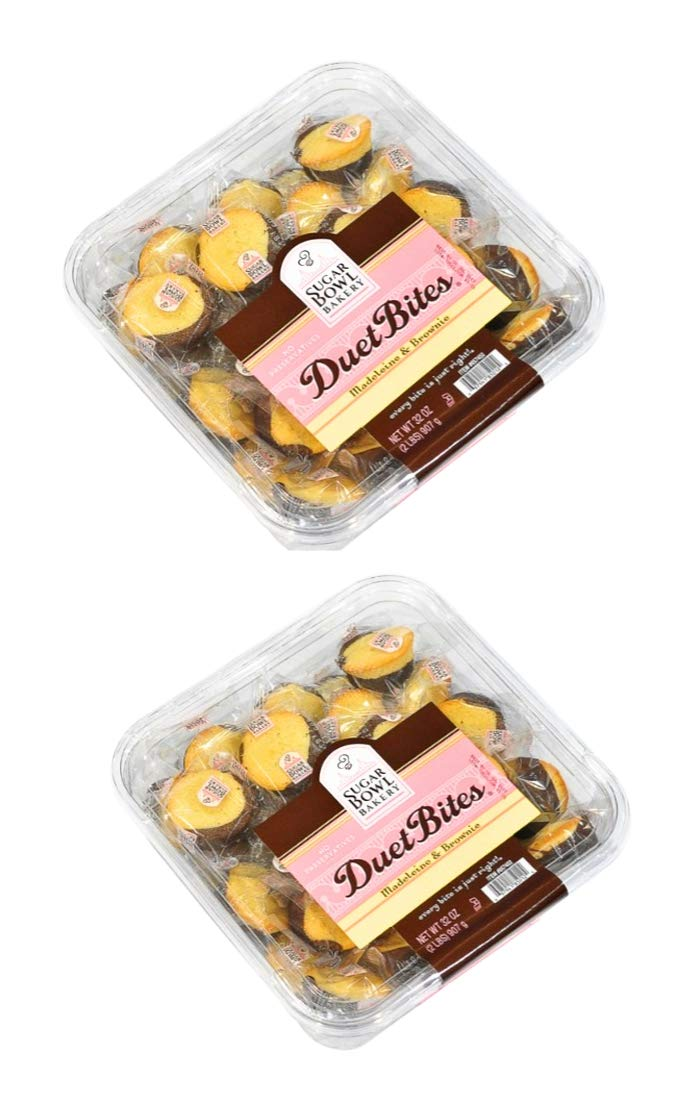 Sugar Bowl Bakery Duet Bites Madeleine & Brownie 32 oz (2 Pack)