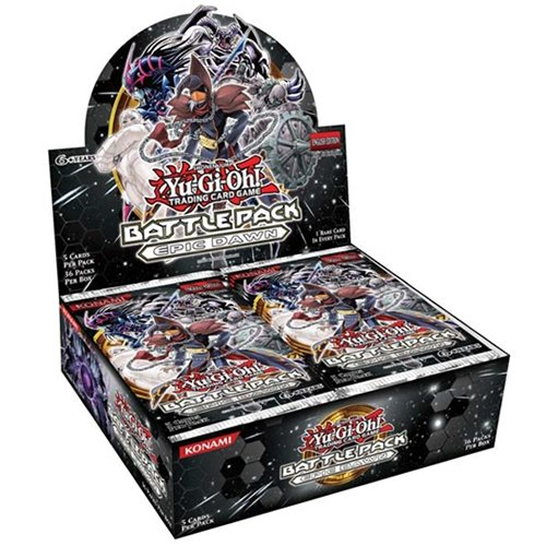 YuGiOh Yu-Gi-Oh: Battle Pack - Epic Dawn Booster Box [Unlimited Edition]