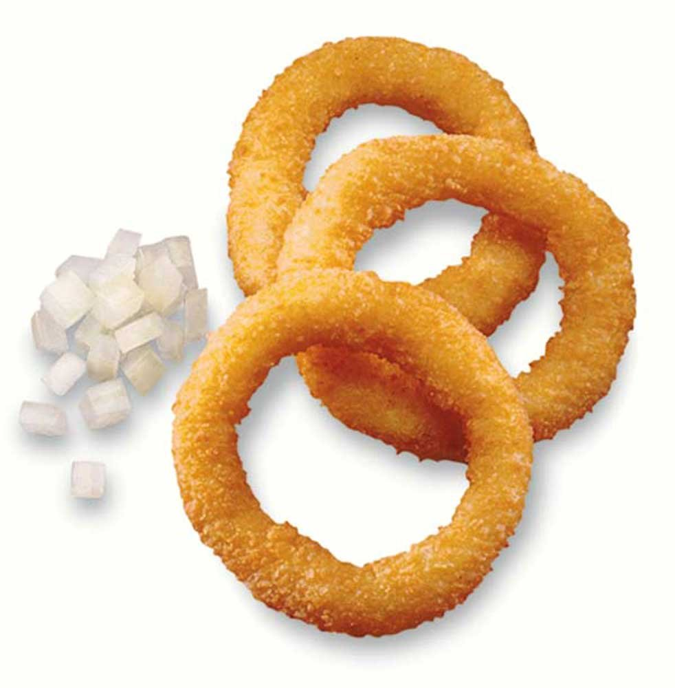 McCain Moores Breaded Onion Ring, 2 Pound -- 12 per case. by McCain