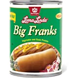 Loma Linda Low Fat Big Franks (20 oz.) (Pack of 12)