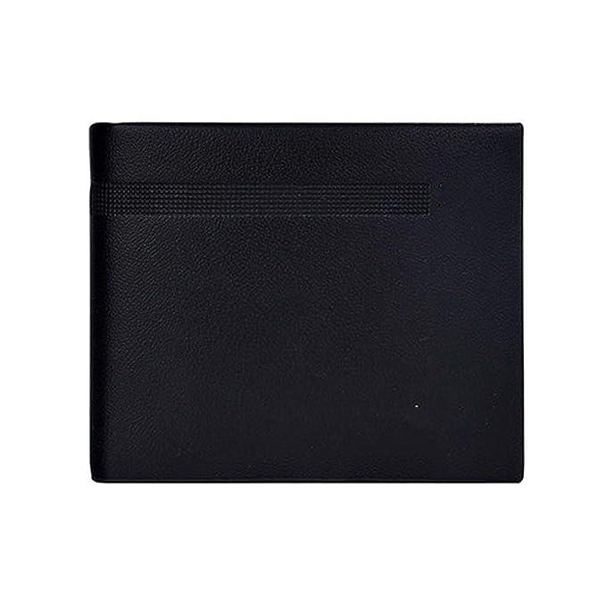 Fashion Short Design Leather Men Wallets Mens Coin Pocket Carteras Purses Wallet For Men,Black