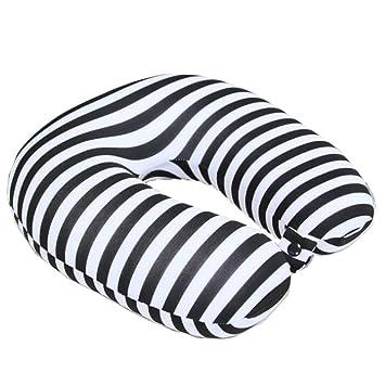 Amazon.com: boyann microperlas almohadas de viaje con ...