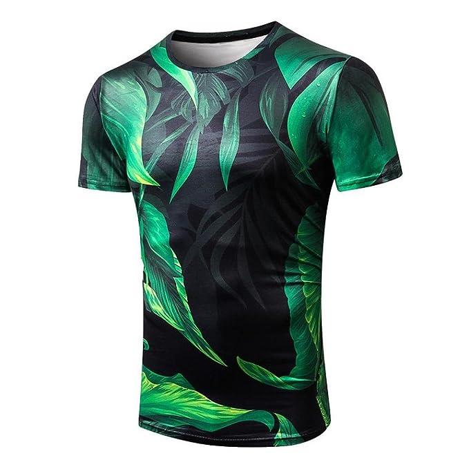 VENMO Camisetas Hombre Hombres Camisetas Divertida, Casual Moda Camiseta de Manga Corta de Impresión en 3D Hombre Verano, Camisas Hombre, Tops Hombre, ...