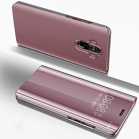 Uposao Compatible con Huawei Mate 9 Piel PU Cuero Libro ...