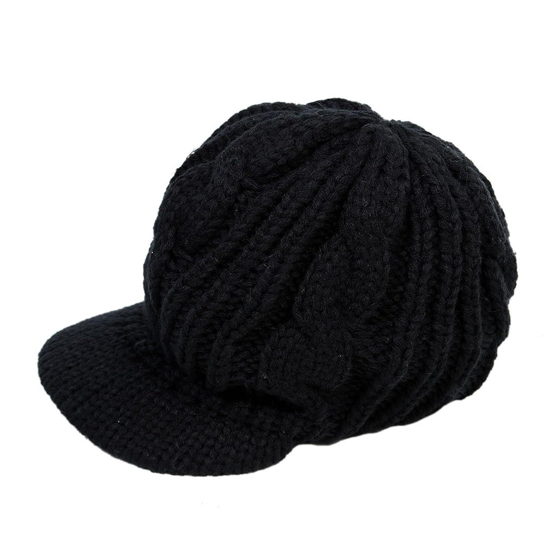 Damen winter Mütze Strickmütze warme Strickmütze Topfmütze