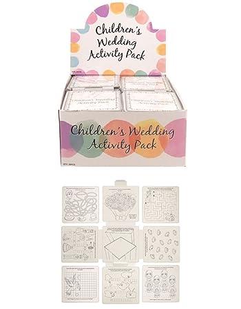 6 Wedding Favour Activity PackChildrensKidsparty Bag Fillerbox