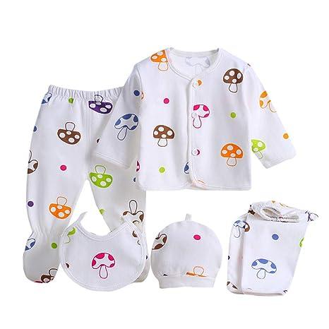 Amazon.com: succeedtop 5PCS Clothes for Newborn Baby Boy ...