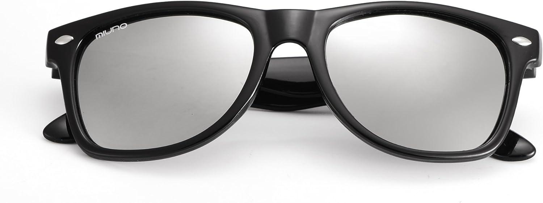 Occhiali da sole polarizzati a specchio Miuno 6833 per ragazzi e ragazze