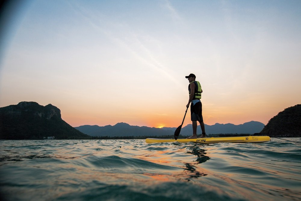 Stand Up Paddle X2 zray