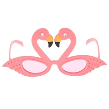 Ogquaton Funny Flamingo Party Gafas Hawaiian Tropical ...