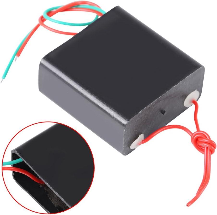 Akozon M/ódulo Transformador de alto voltaje CC 4.8V-6V a 50kV-800kV Super Arc M/ódulo de alta tensi/ón