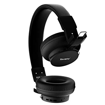 Buy Toreto Blast 209 Wireless Bluetooth Headphone With 10 Hours Playtime Blue Tor 209 Black Online At Low Prices In India Amazon In