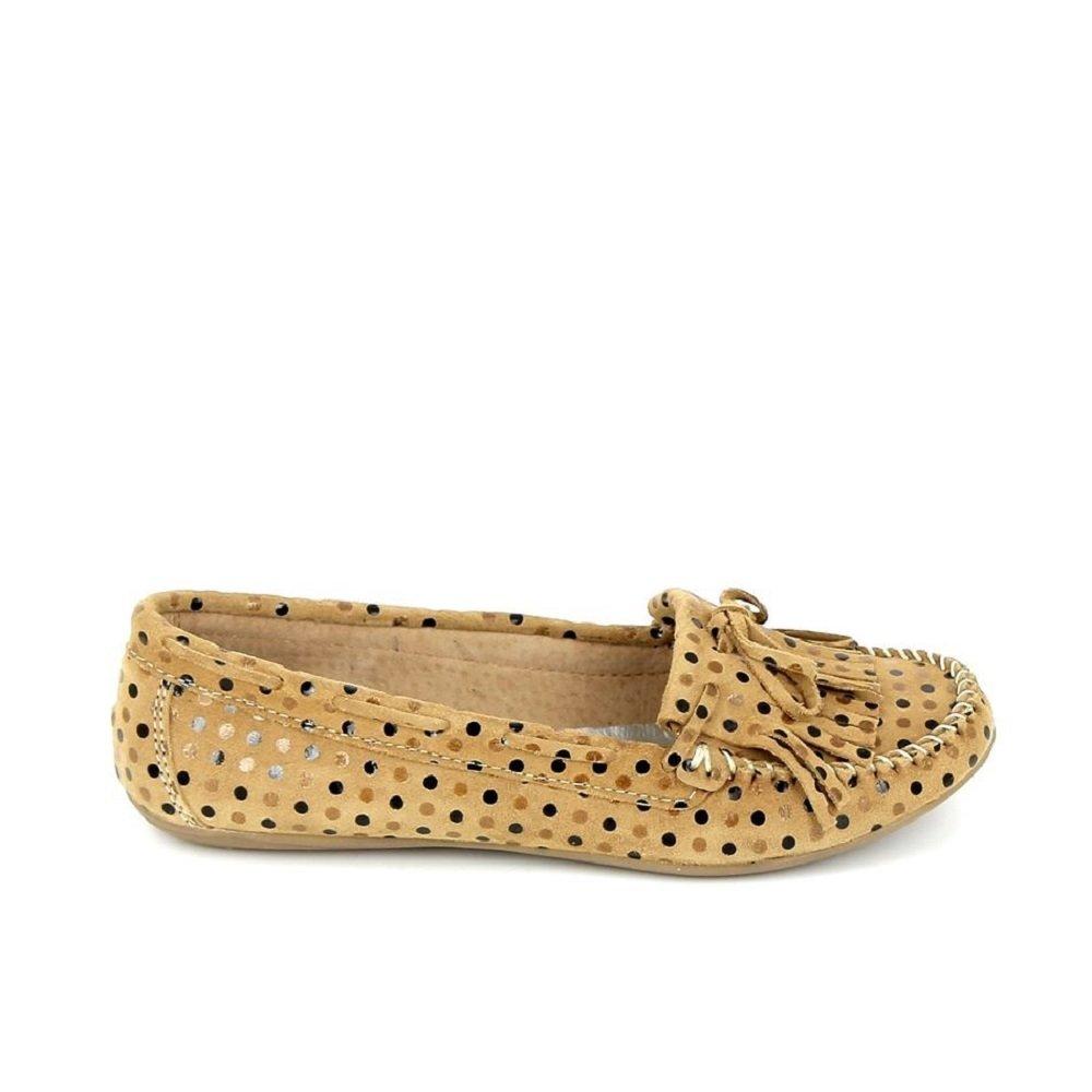 Ippon Vintage - Zapatos de cordones para mujer 36 EU marrón