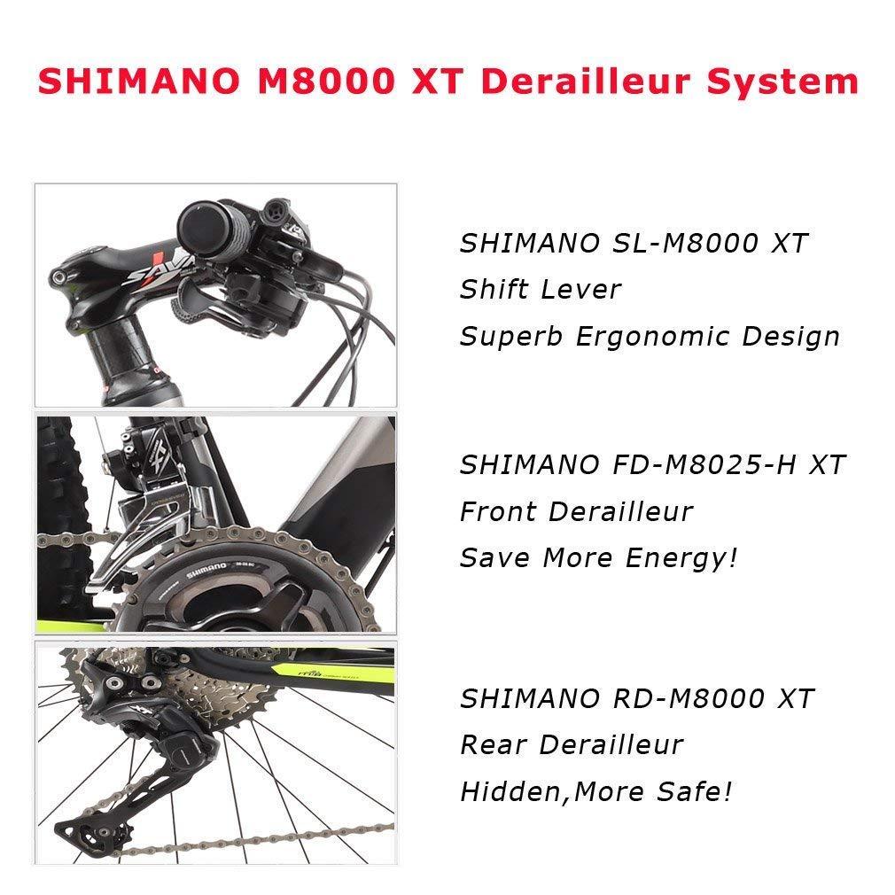 66f52ca7b00 Amazon.com : SAVADECK 700 Carbon Fiber Mountain Bike 26