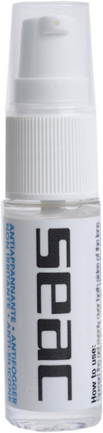 SEAC Biogel Antiempañante para máscaras y Gafas, 100% antivaho orgánico, Totalmente biológico, sin Alcohol, Unisex-Adult, Transparente, 15 ml