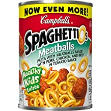 SpaghettiOs Pasta with Meatballs, 15.6 Ounce (Packaging May Vary)