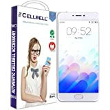 CELLBELL® Tempered Glass Screen Protector For Meizu M3 Note With FREE Installation Kit