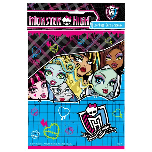 Monster High Goodie Bags, 8ct -
