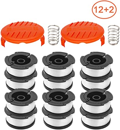 Spring Replacement KIT For Black //Decker Cap RC-100-P+AF-100 Spool Line