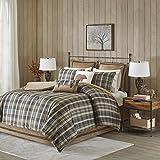Woolrich Hadley Plaid Comforter Set, Queen, Multicolor
