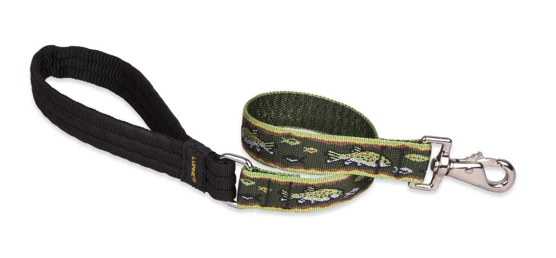 1\ Lupine Traffic Dog Lead, 1-Inch, 2-Feet, Brook Trout