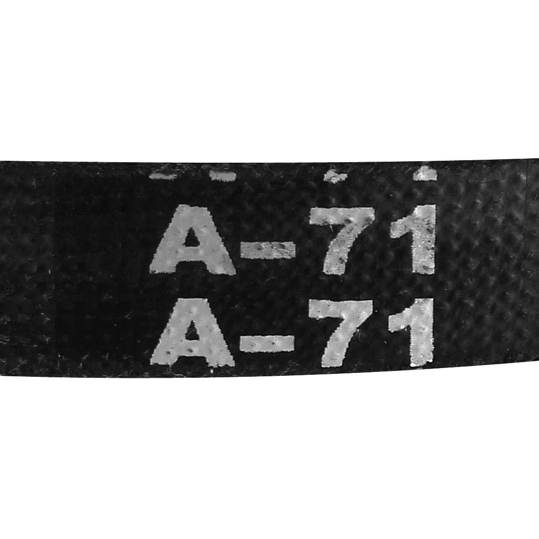 uxcell A-67 Drive V-Belt Girth 67-inch Industrial Power Rubber Transmission Belt