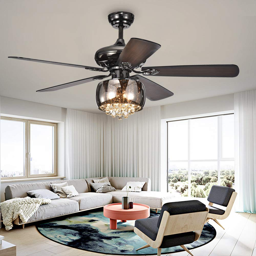 Best crystal ceiling fans