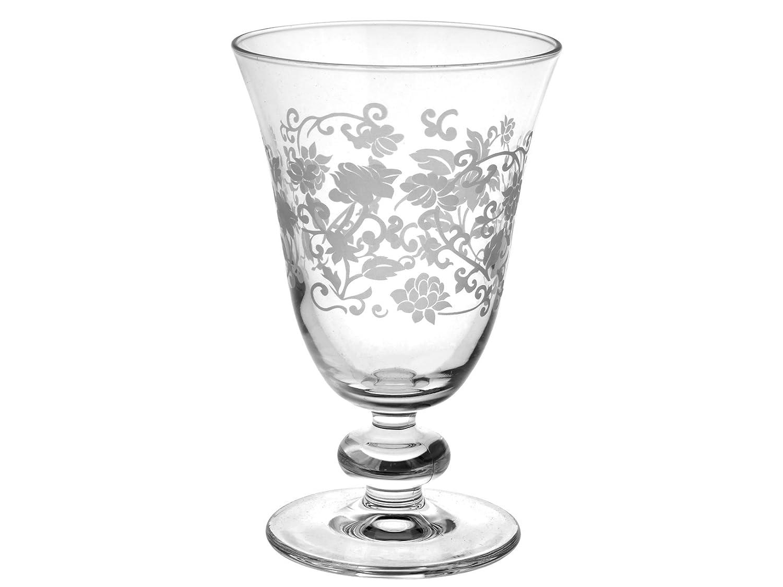 Pasabahce 44479Provence Copa Cristal Agua, 28Cl, Transparente/Blanco Pengo