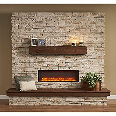 Outdoor Great Room GBL-44 Built-In Linear Electric Fireplace, 44""