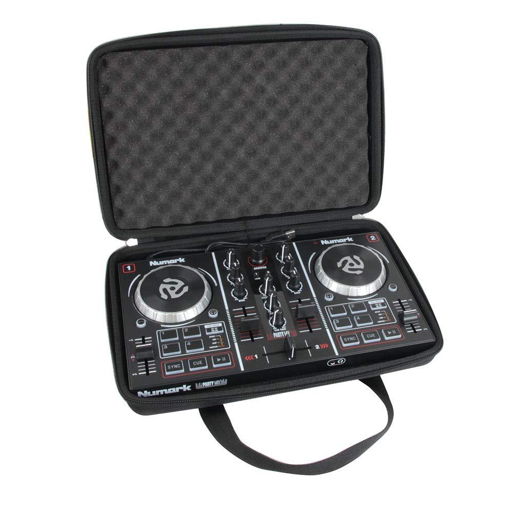 Hermitshell Hard Travel Case for Numark Party Mix Starter DJ Controller