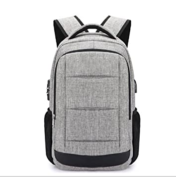 GJX 2018 Simple Men s Shoulder Bag Men And Women High School Students  Schoolbag Laptop Backpack  Amazon.co.uk  Sports   Outdoors a5374f35e1330