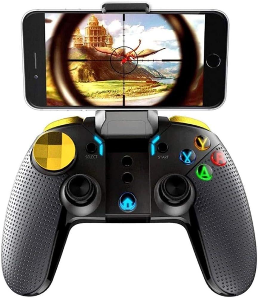 BaiLUSHoP Gamepad Inalámbrico Joystick para Juegos De Teléfonos Inteligentes con Soporte Telescópico, para La Mayoría De Los Juegos En El Sistema iOS/Android.